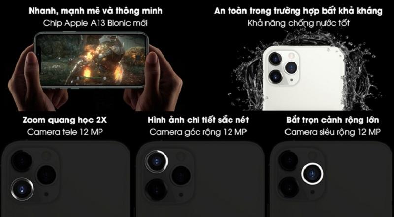 tính năng iPhone 11 Pro