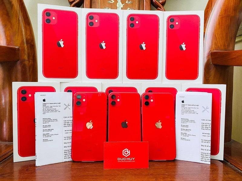 iPhone 11 64GB Chính Hãng VN/A màu đỏ