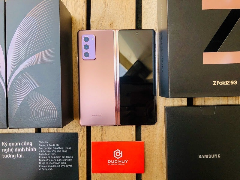 Galaxy Z Fold 2 5G fullbox