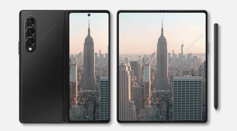 màn hình Galaxy Z Fold 3