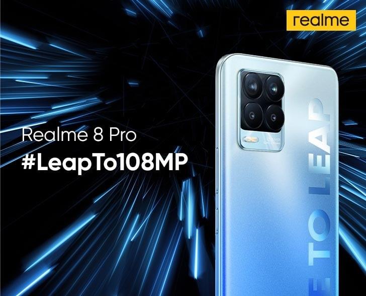 camera Realme 8/8 Pro