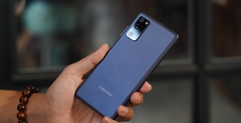 thiết kế Galaxy S20 FE Snapdragon 865