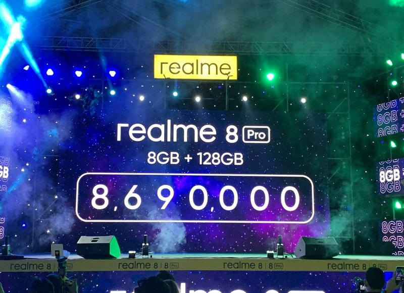 giá Realme 8 Pro