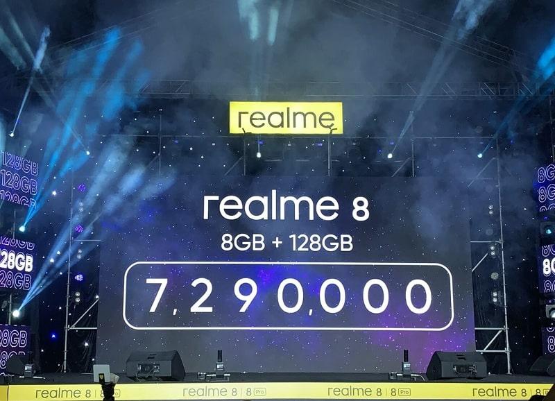 giá Realme 8