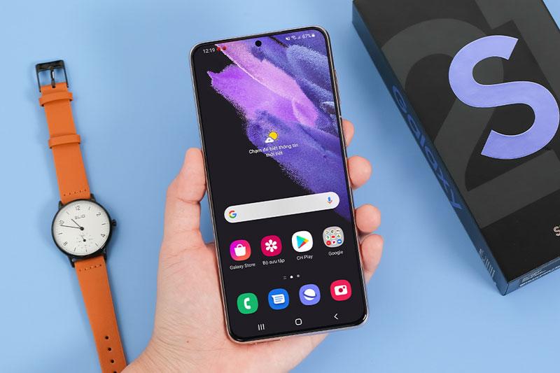 màn hình Galaxy S21+ 5G