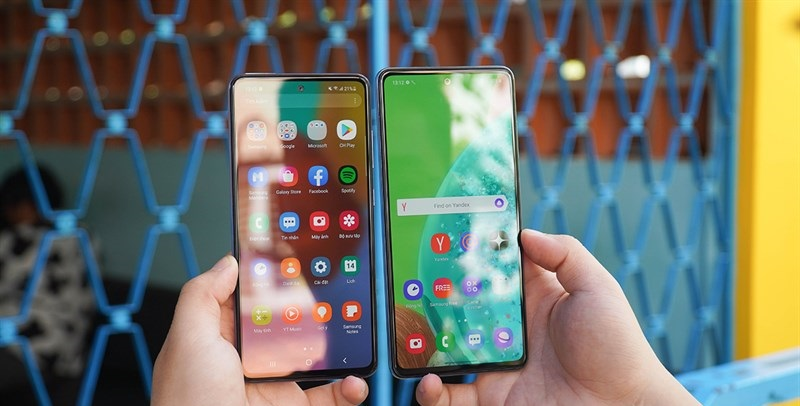Samsung Galaxy A52 và Galaxy A72