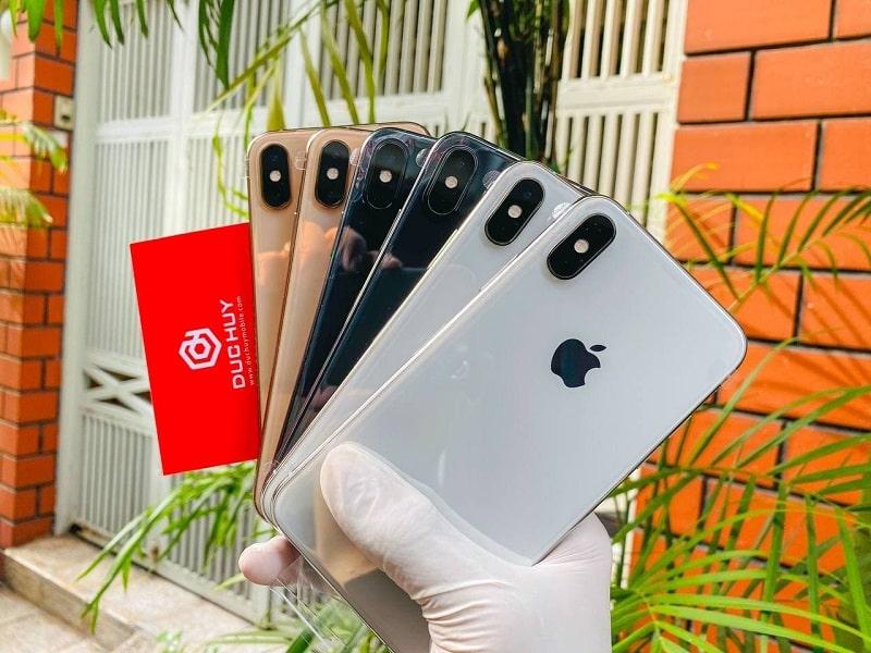 trên tay iPhone XS 64GB (Chưa Active)
