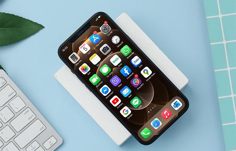 Mặt trước iPhone 11 Pro Max