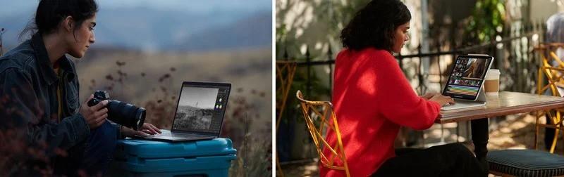 So sánh hệ điều hành iPad Pro 12.9 2021 vs MacBook Air M1