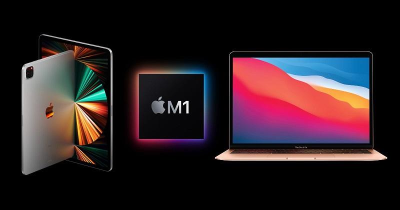 So sánh thiết kế iPad Pro 12.9 2021 vs MacBook Air M1