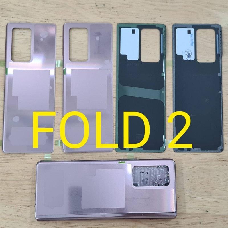 kính nắp lưngSamsung Galaxy Note 20 Z Fold 2 5G