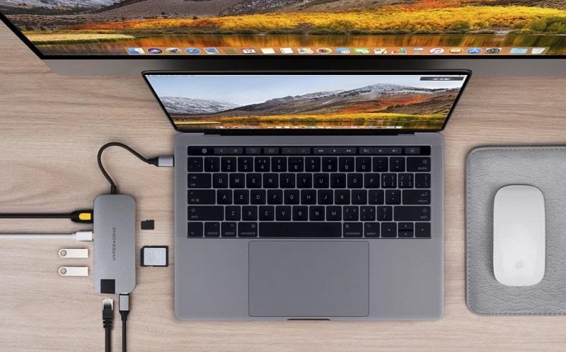 Kết nối Macbook cũ