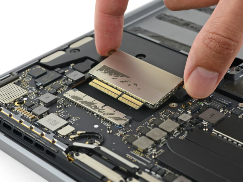 ổ cứng Macbook cũ