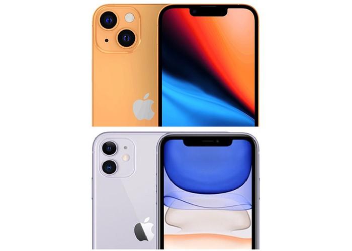 So sánh iPhone 13 vs iPhone 11 camera