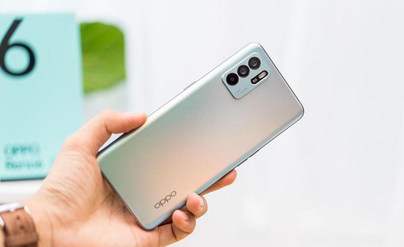 Thiết kế OPPO Reno 6 Z 5G