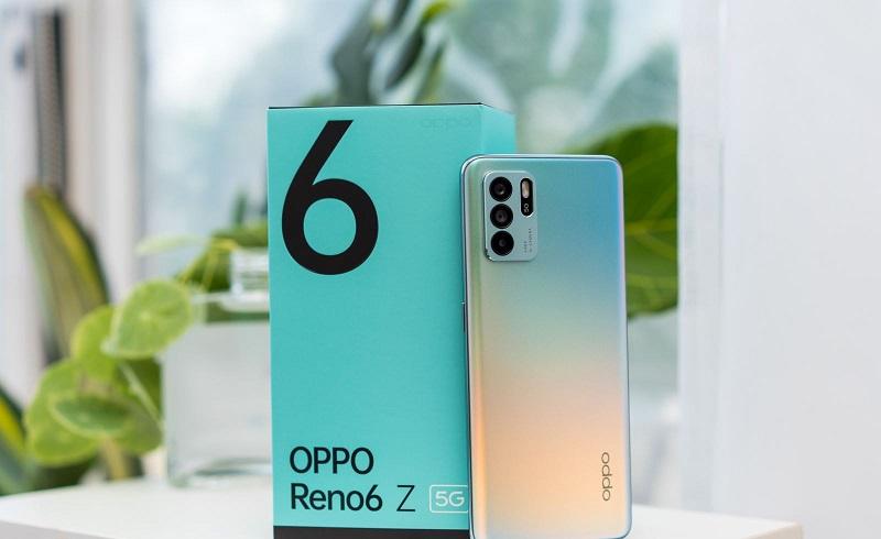 Mặt lưng OPPO Reno6 Z 5G