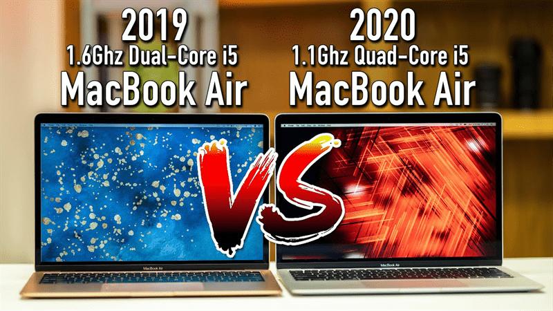 So sánh cấu hình Macbook