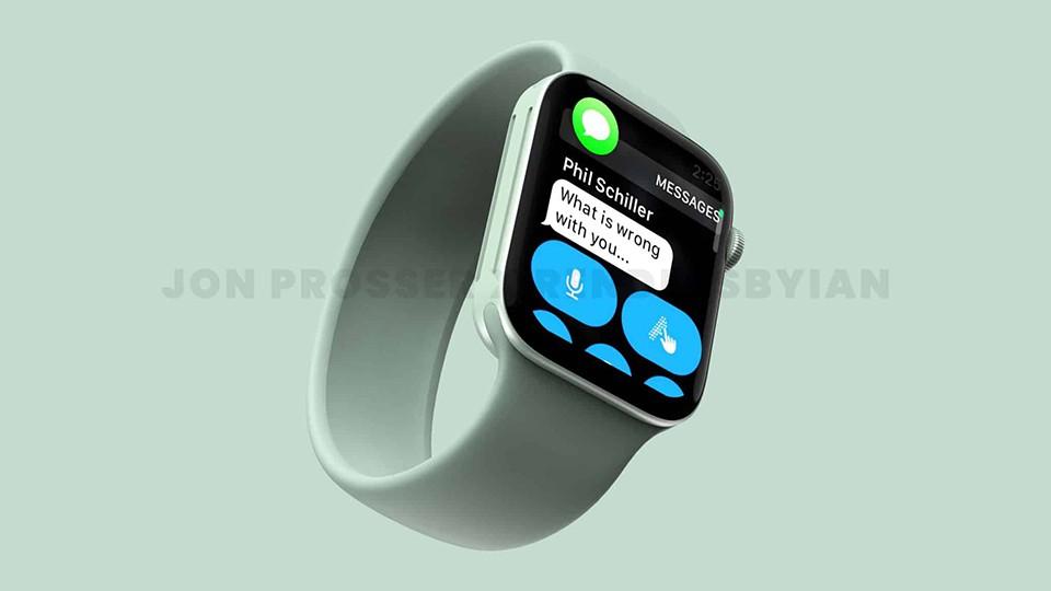 Màn hình Apple Watch Series 7