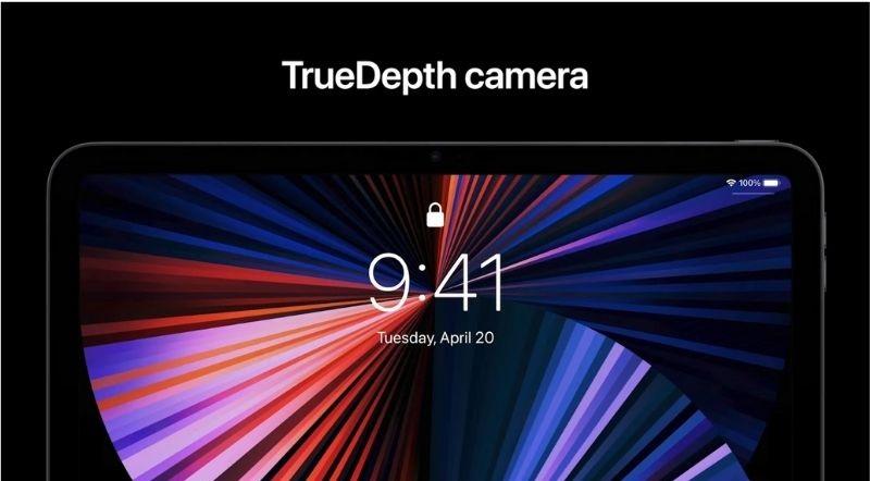 camera iPad Pro 11 inch 128GB (2021) Wifi