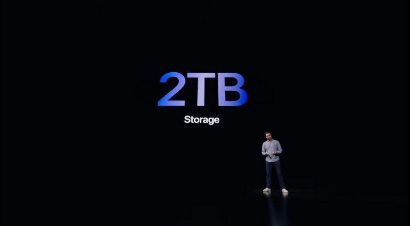 bộ nhớ iPad Pro 11 inch 2021
