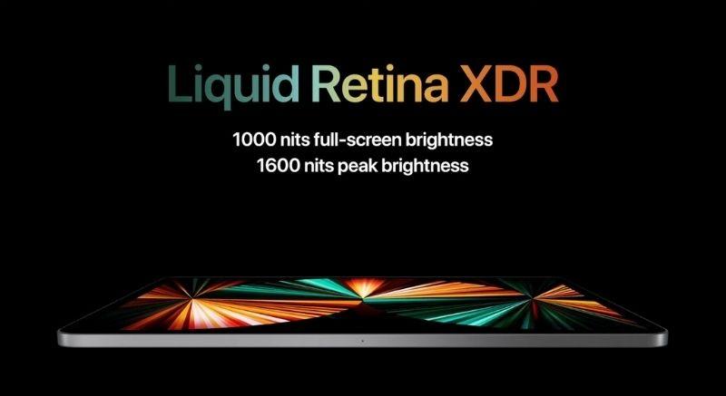 hiển thị iPad Pro 11 inch 2021