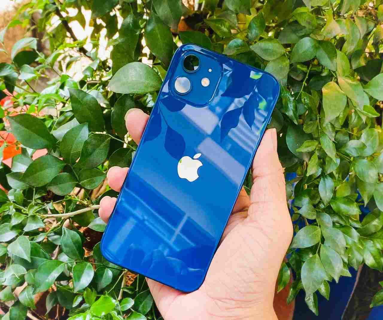 Mặt sau iPhone 12