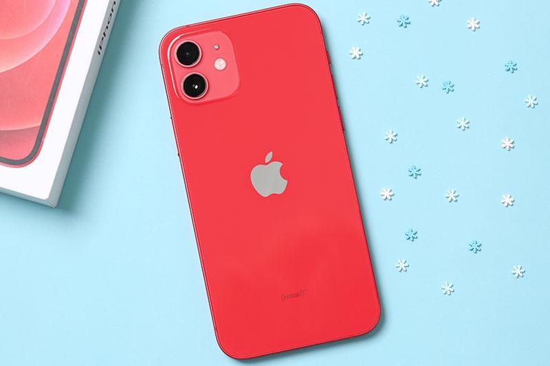 Mặt sau iPhone 12 64GB Cũ