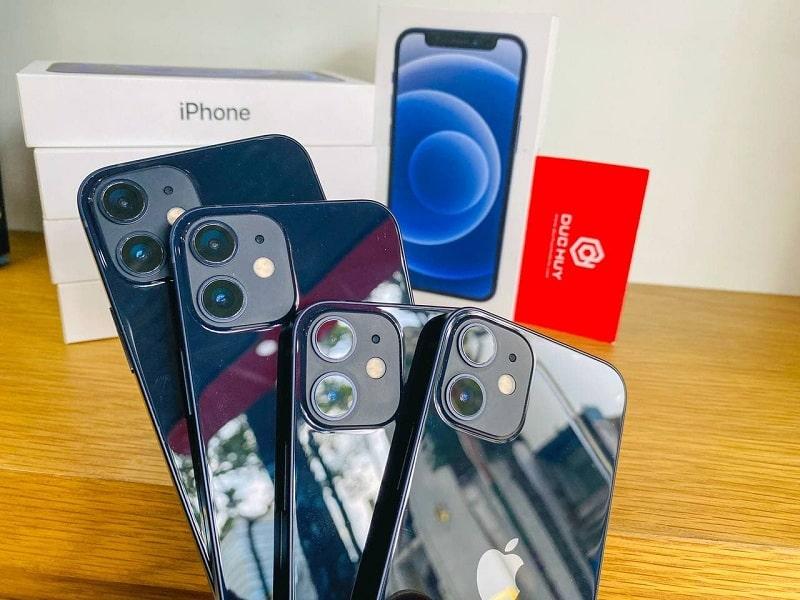 camera iPhone 12 Mini