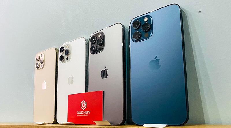 màu sắc iPhone 12 Pro 256GB Chính Hãng