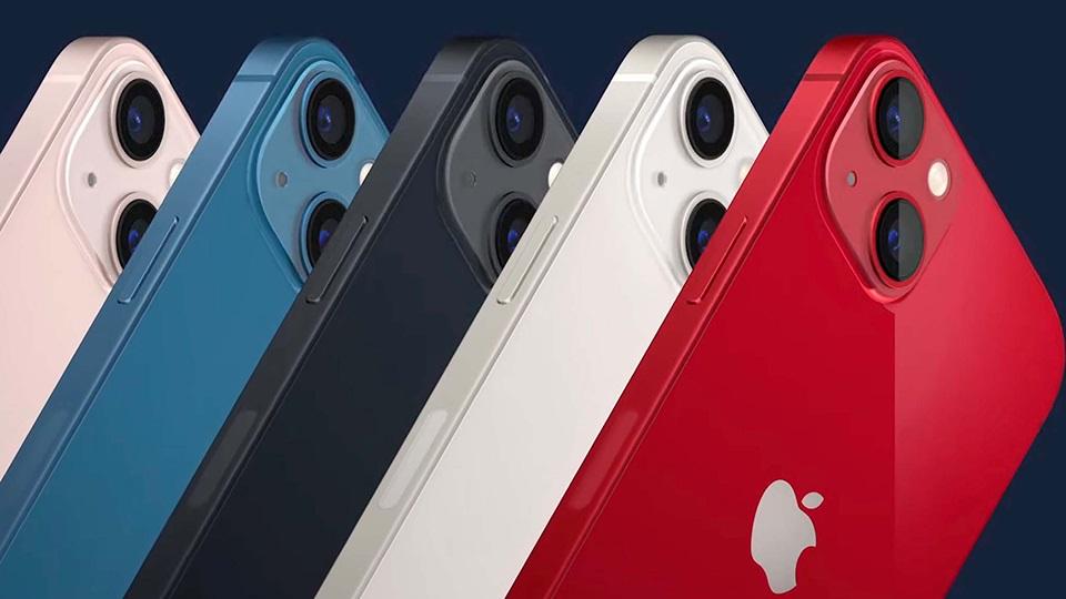 thiết kế iPhone 13 128GB