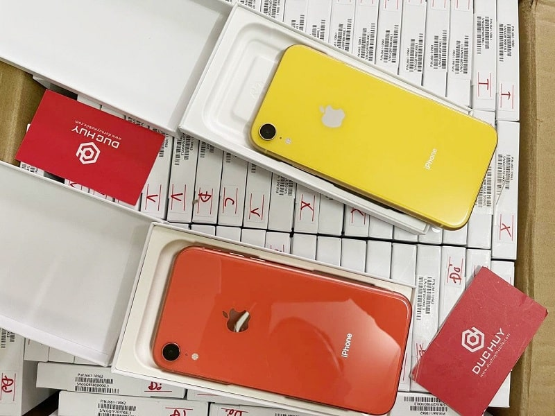 số lượng iPhone XR Mới Chưa Active