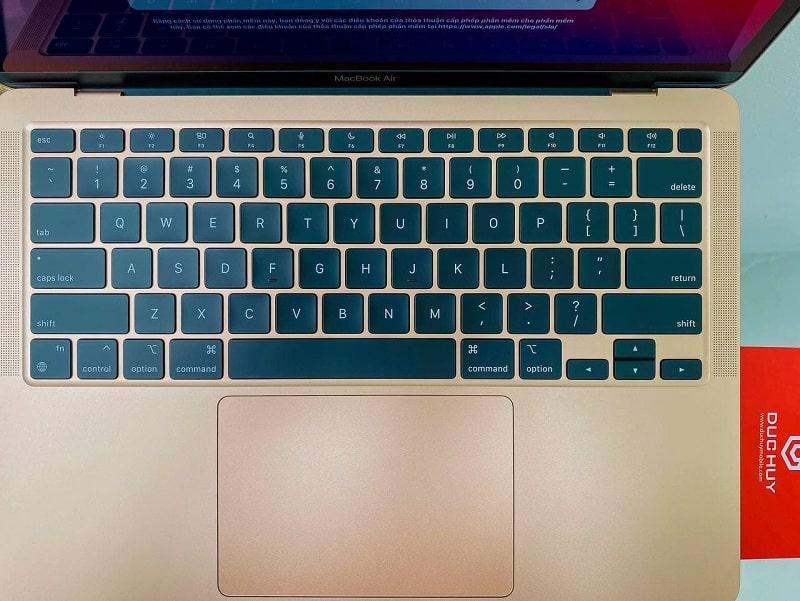 Bàn phím Macbook Air M1 16GB   256GB