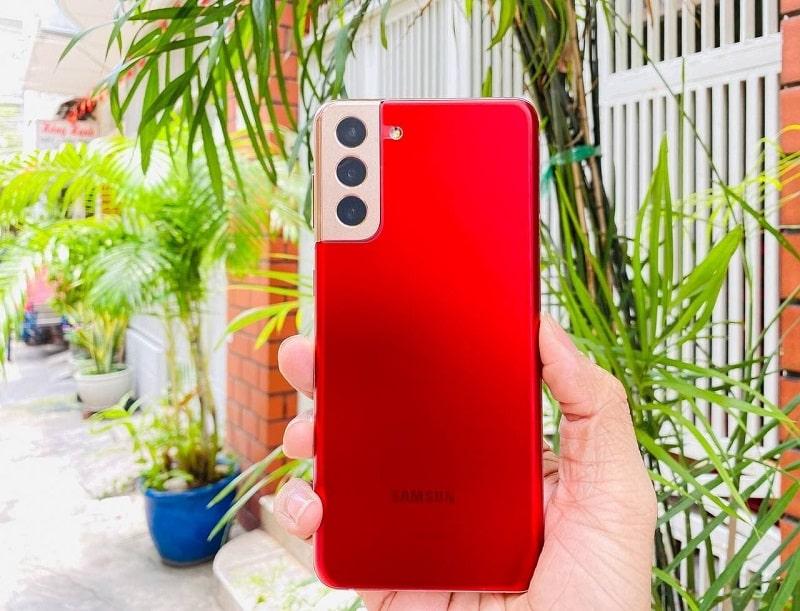 thiết kế Samsung Galaxy S21 Plus 5G 256GB