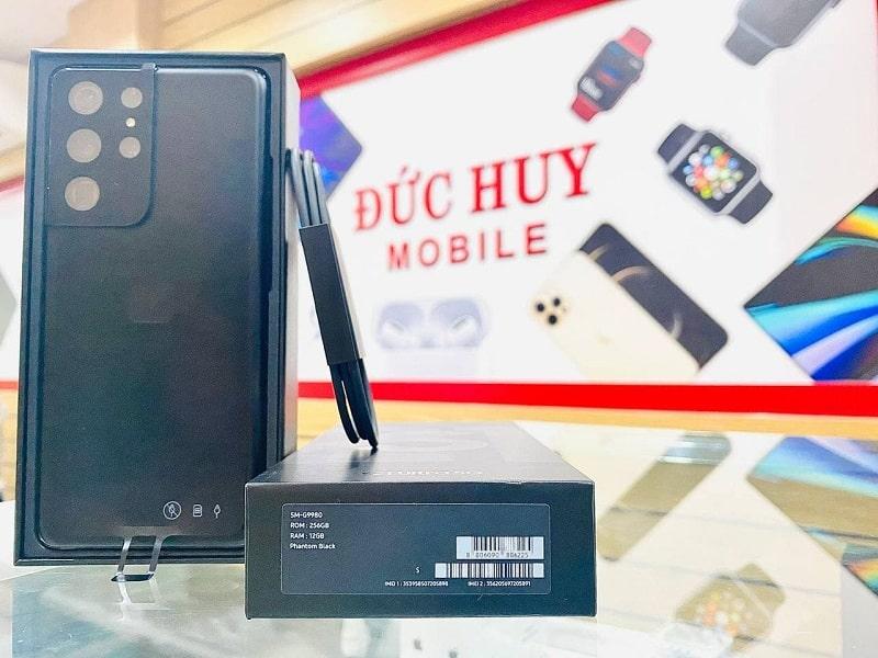 thiết kế Samsung Galaxy S21 Ultra 5G 256GB Hồng Kông 2 Sim