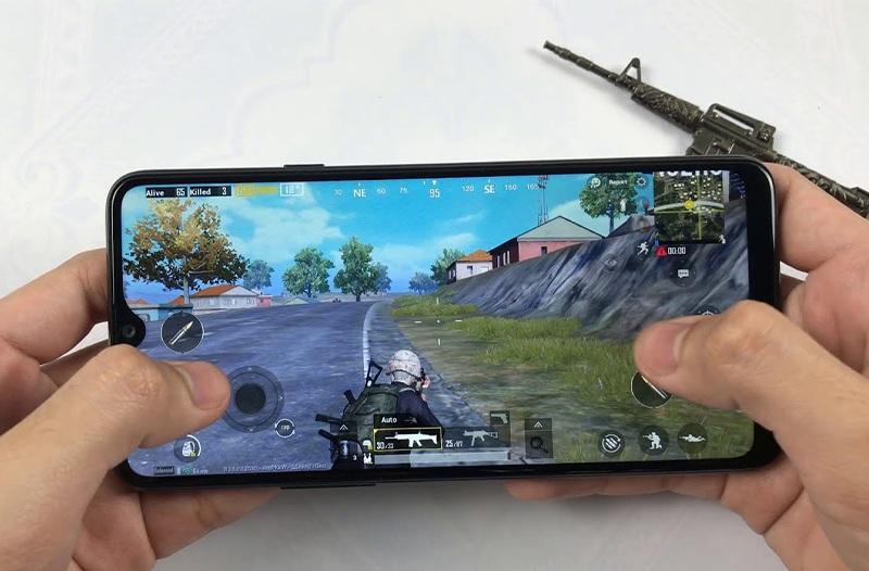 chơi game trên Galaxy A02s