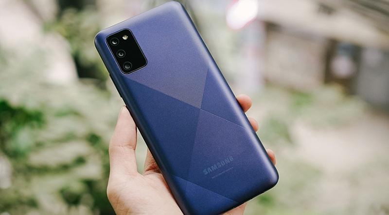 thiết kế Samsung Galaxy A02s