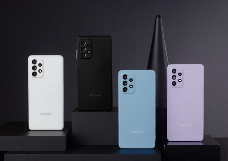màu sắc Samsung Galaxy A52