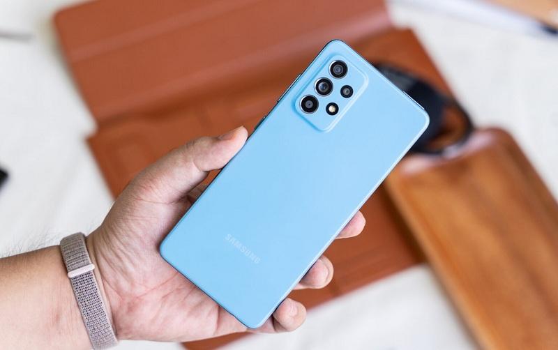 thiết kế Samsung Galaxy A52