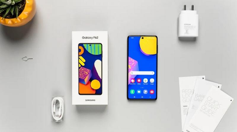 Samsung Galaxy F62 fullbox