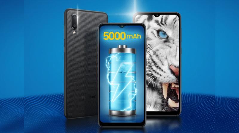 Samsung Galaxy M02 giá rẻ