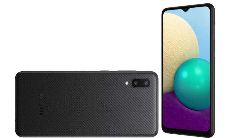 thiết kế Samsung Galaxy M02