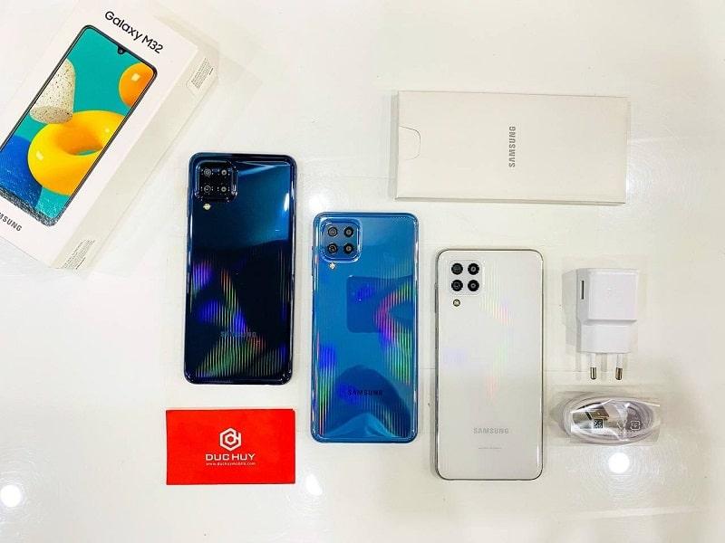 thiết kế Samsung Galaxy M32 8GB | 128GB