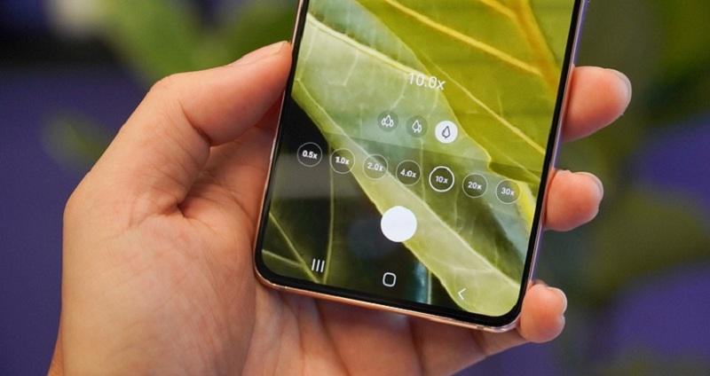 camera Samsung S21+ 5G chính hãng