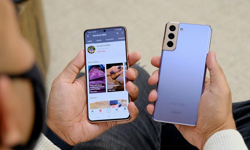 ngoại hình Samsung Galaxy S21+ 5G