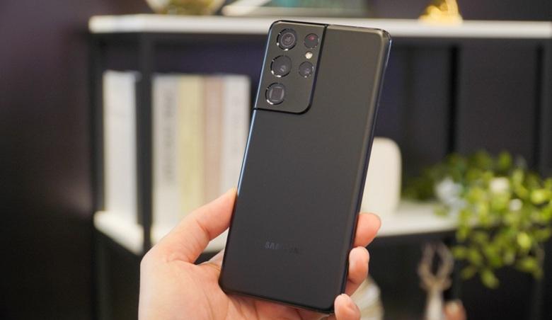 thiết kế Samsung Galaxy S21 Ultra 5G chính hãng