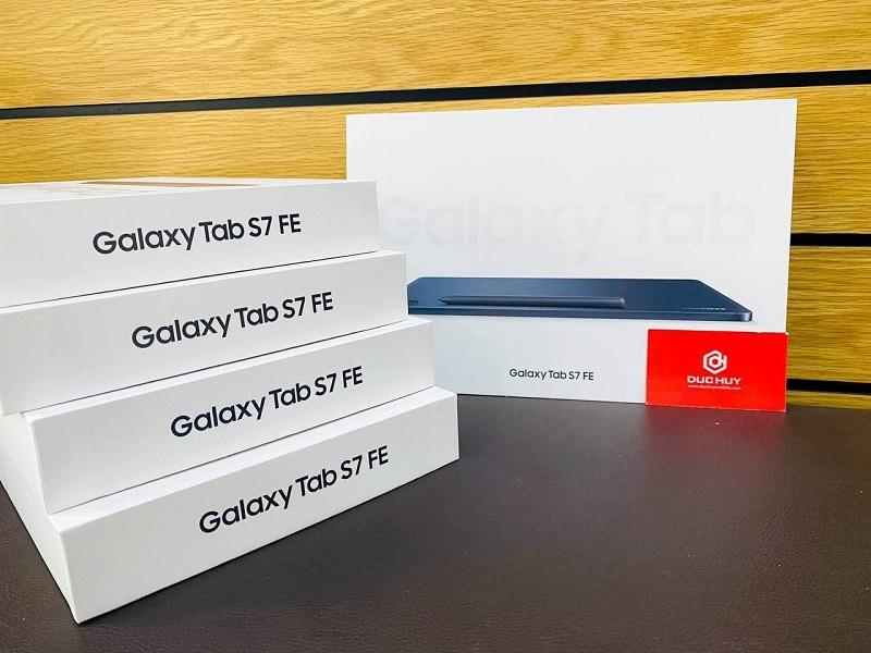 Thiết kế Samsung Galaxy Tab S7 FE