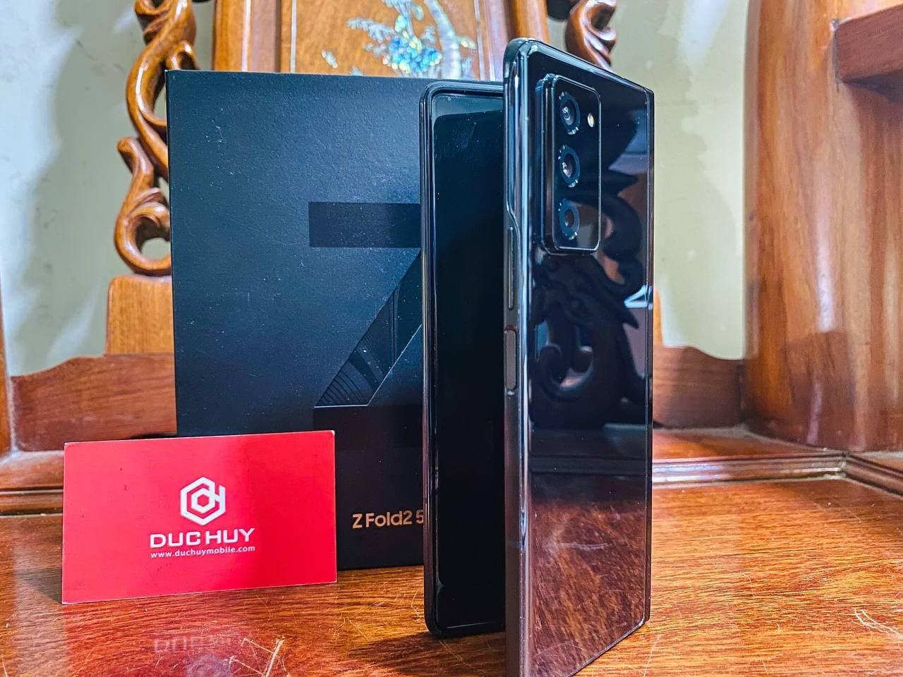 Mặt lưng Samsung Galaxy Z Fold 2 5G Cũ 99% Chính Hãng