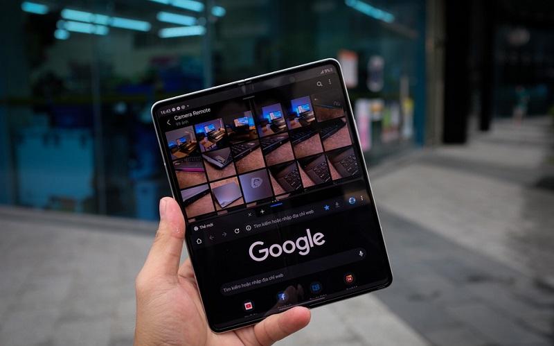 Camera Samsung Galaxy Z Fold 3 5G