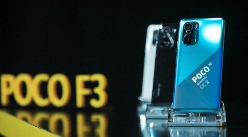 Thiết kế Xiaomi Poco F3
