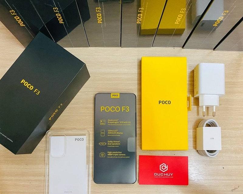 Xiaomi Poco F3 (6GB | 128GB) fullbox